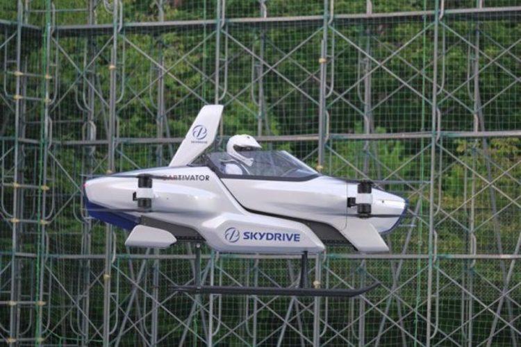 Startup Nhật Bản thử nghiệm 'xe bay' thành công -1