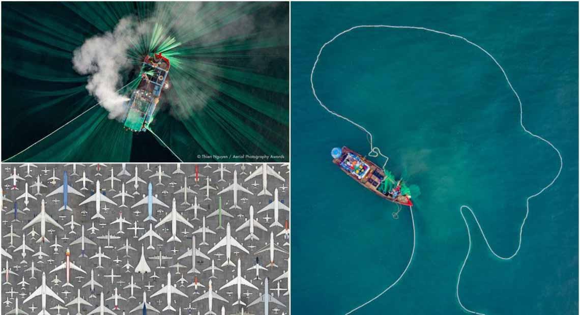 Những bức ảnh ấn tượng đoạt giải trong cuộc thi Nhiếp ảnh Trên không lần thứ nhất -6