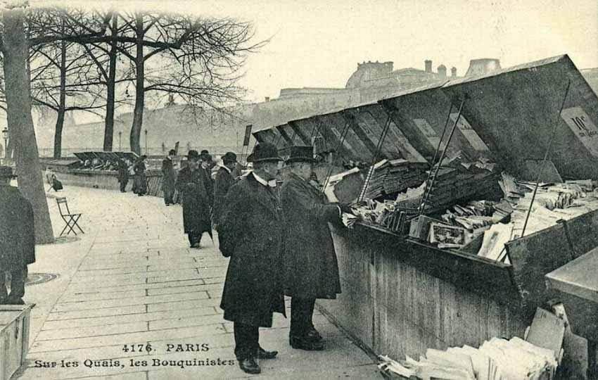 Phố bán sách cũ bên bờ sông Seine -5