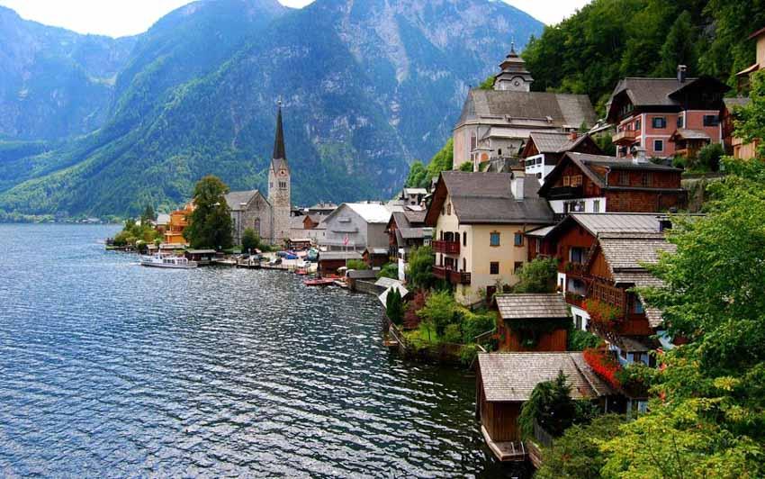 Hallstatt - Ngôi làng cổ tích ở châu Âu -1