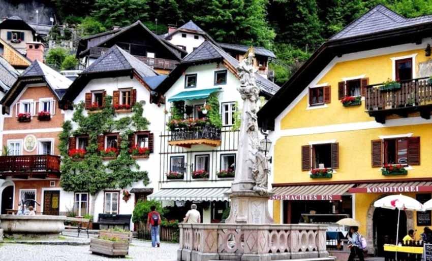 Hallstatt - Ngôi làng cổ tích ở châu Âu -3