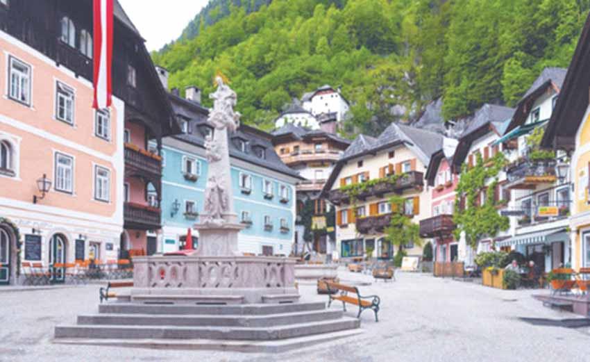 Hallstatt - Ngôi làng cổ tích ở châu Âu -8