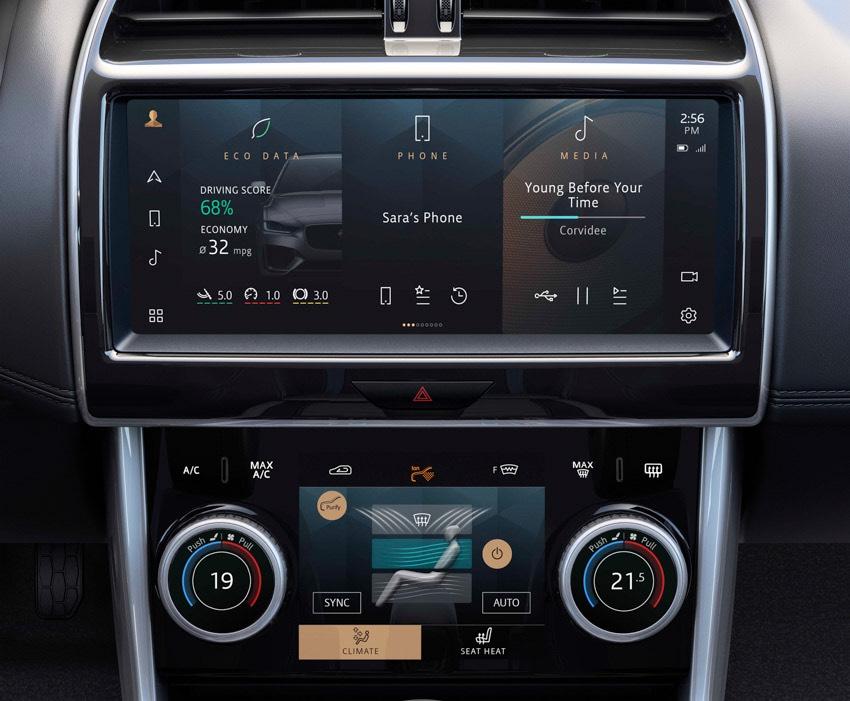 Jaguar XE: cập nhật các công nghệ được kết nối mới và công suất lai điện-11