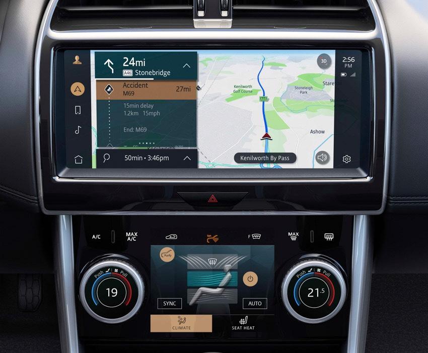 Jaguar XE: cập nhật các công nghệ được kết nối mới và công suất lai điện-12