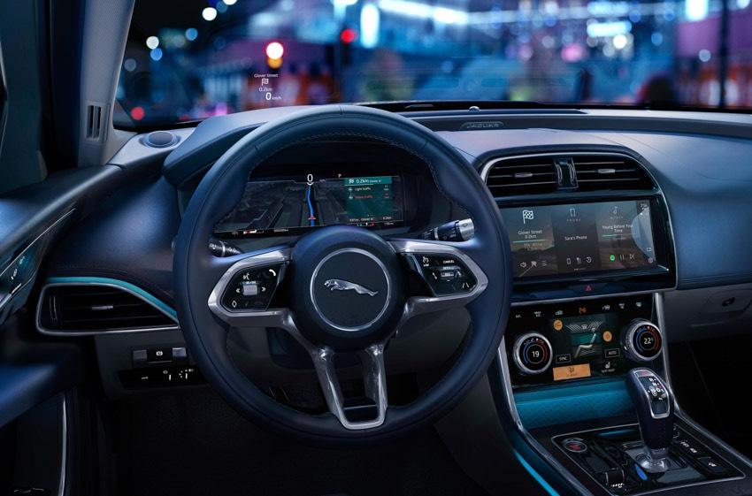 Jaguar XE: cập nhật các công nghệ được kết nối mới và công suất lai điện-23