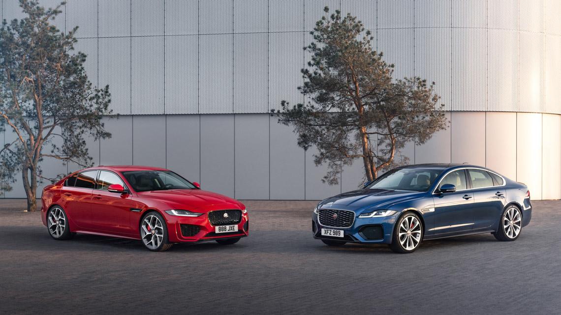 Jaguar XE: cập nhật các công nghệ được kết nối mới và công suất lai điện - 1