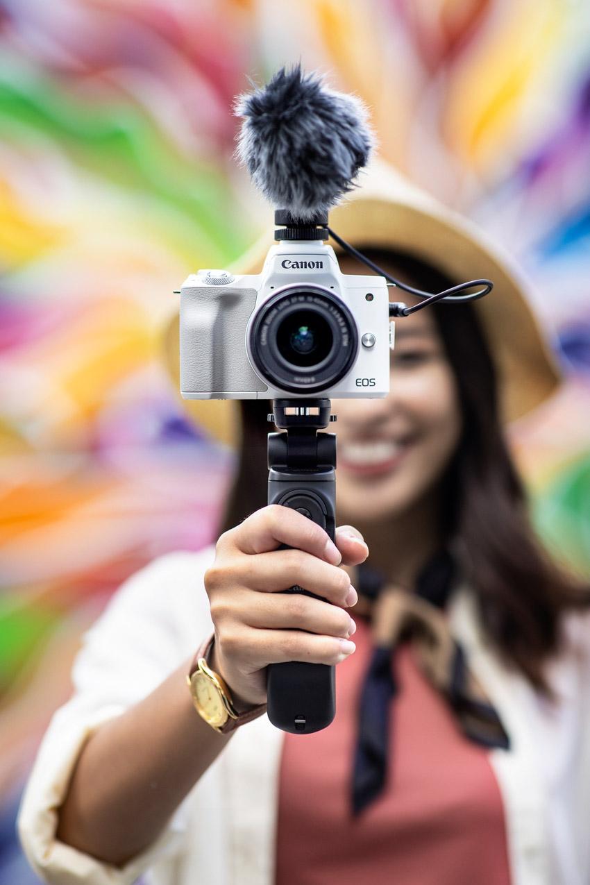 Thật dễ dàng với máy ảnh Canon EOS M50 Mark II sáng tạo nội dung video, hình ảnh và live stream - 2