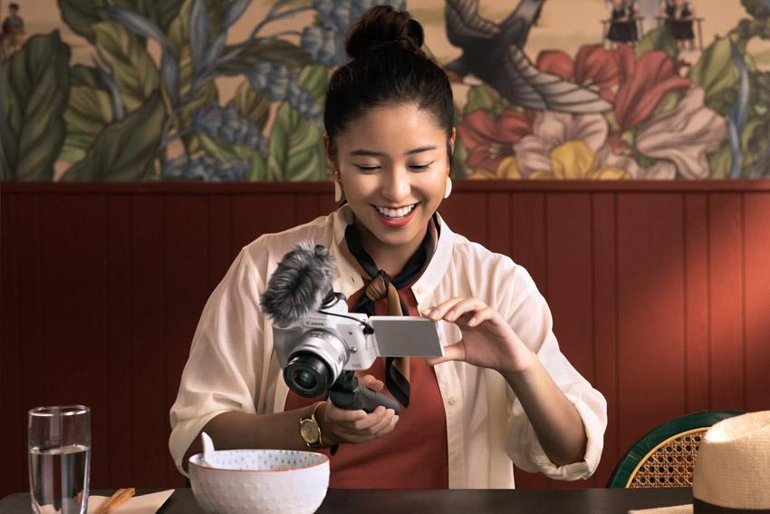 Thật dễ dàng với máy ảnh Canon EOS M50 Mark II sáng tạo nội dung video, hình ảnh và live stream - 3
