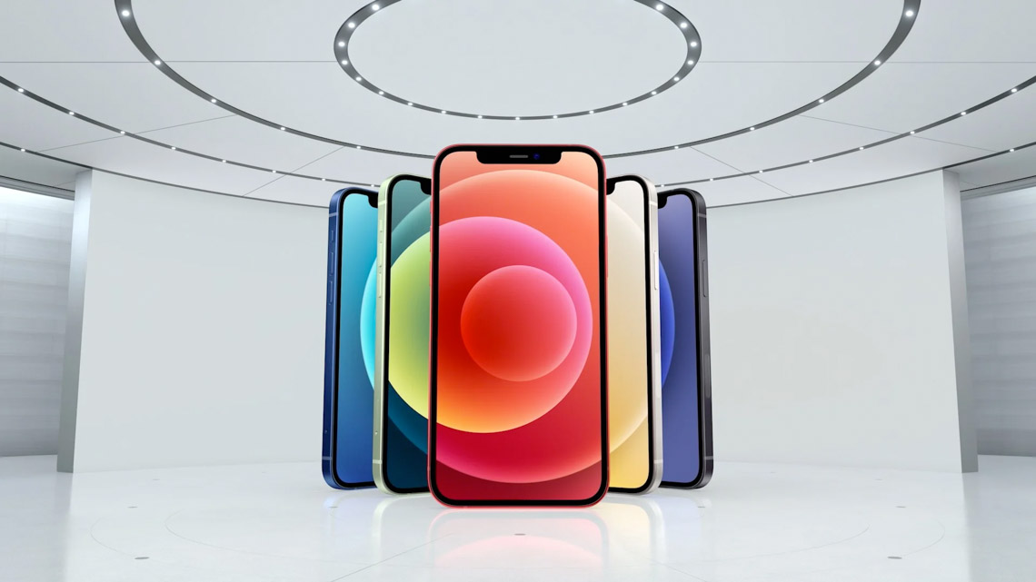 Apple giới thiệu iPhone 12 với màn hình OLED và 5G - 1