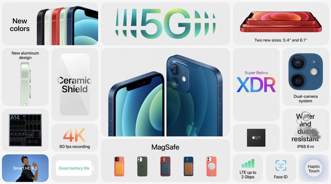Apple giới thiệu iPhone 12 với màn hình OLED và 5G - 2