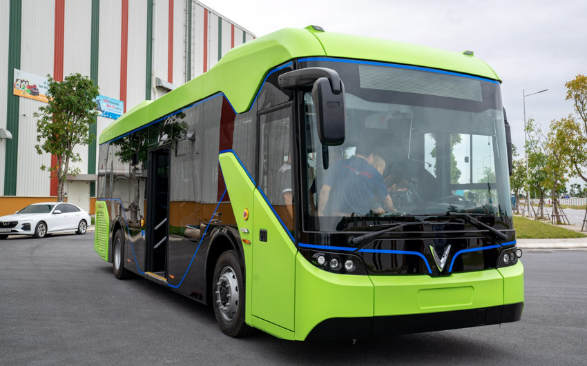 Vingroup chính thức chạy thử nghiệm xe buýt điện VinFast - 5