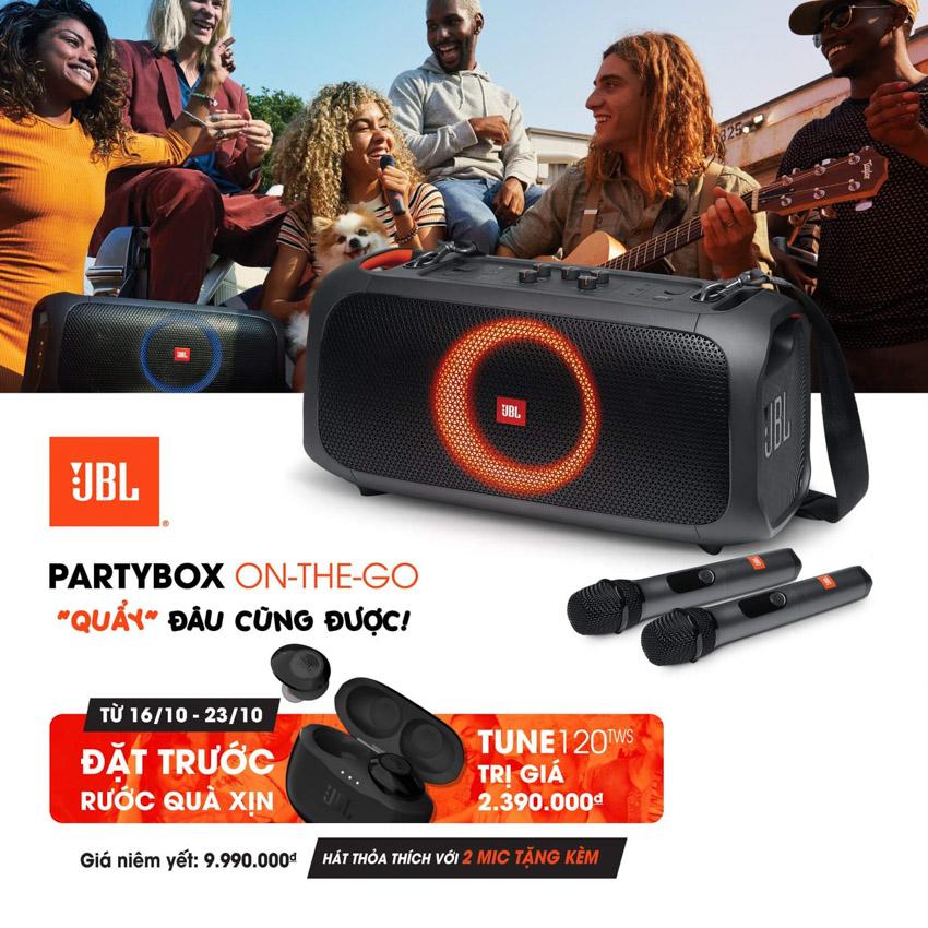 JBL giới thiệu bộ đôi loa bluetooth PartyBox On-The-Go và PartyBox 310 - 4