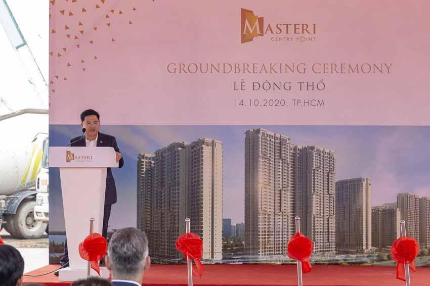 DELTA Group khởi công dự án Masteri Centre Point -3