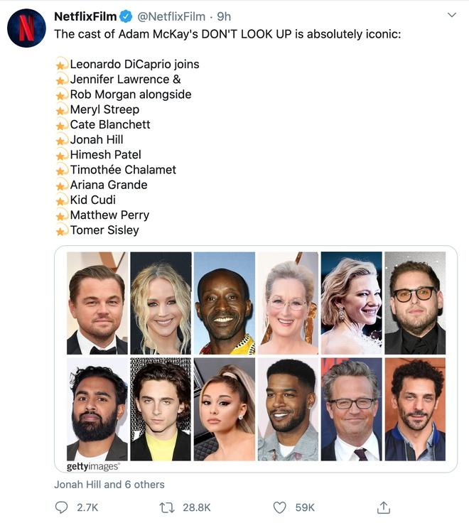 Leonardo DiCaprio cùng Jennifer Lawrence đóng phim về thiên văn học - 2