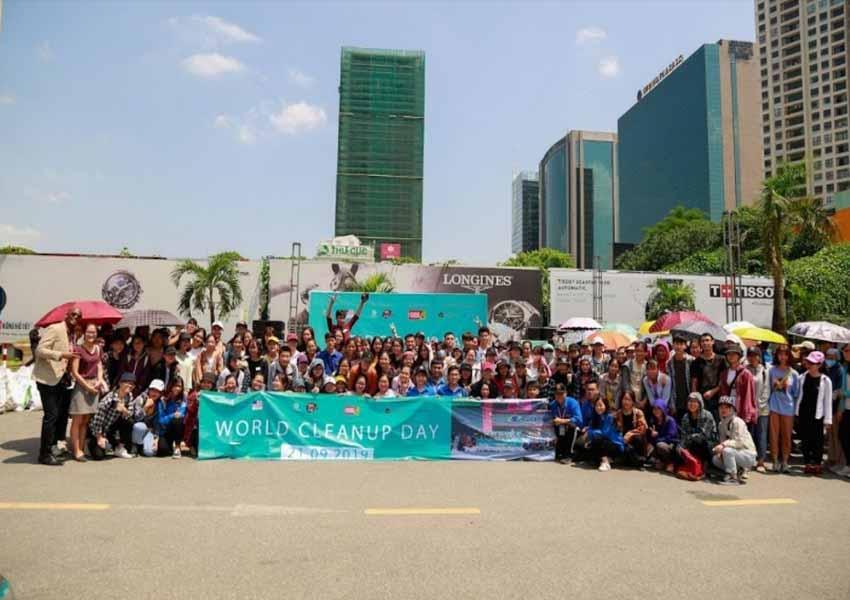 Canon đồng hành cùng chiến dịch World Cleanup Day 2020 tại Hà Nội -2