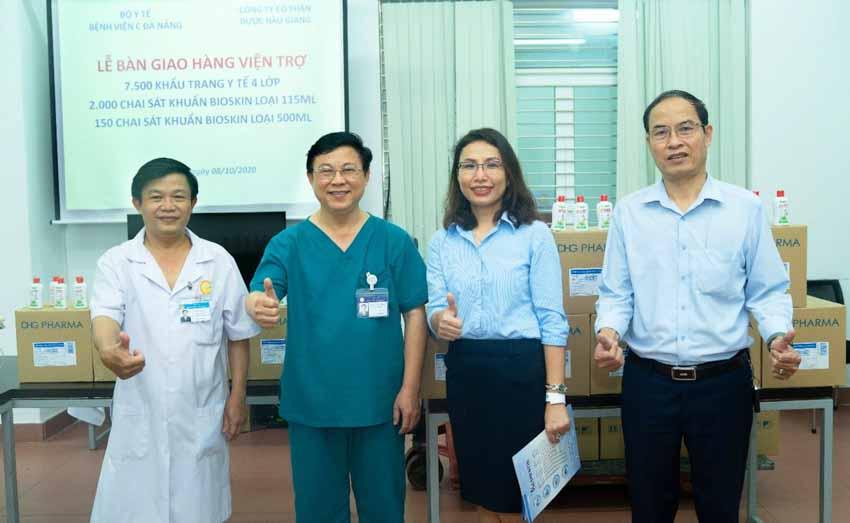 Dược Hậu Giang đồng hành cùng các bệnh viện phòng chống dịch Covid-19 -2
