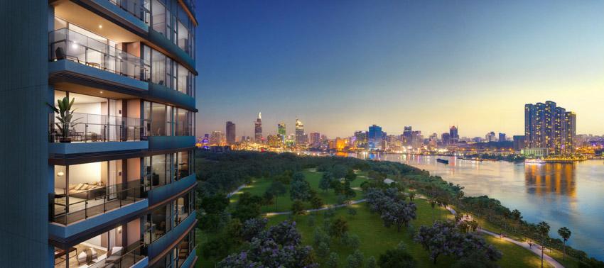 City Garden Thủ Thiêm ký kết hợp tác với 4 nhà phân phối lớn cho Hudson Tower thuộc dự án The River - 1