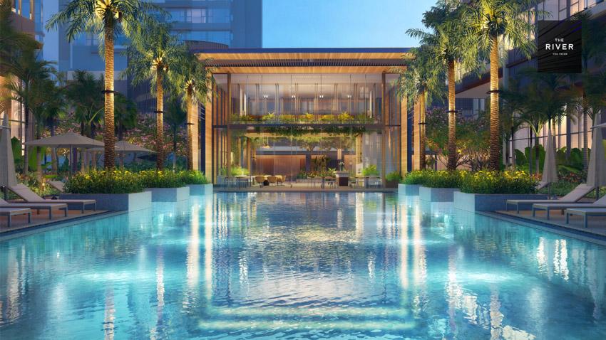 City Garden Thủ Thiêm ký kết hợp tác với 4 nhà phân phối lớn cho Hudson Tower thuộc dự án The River - 4