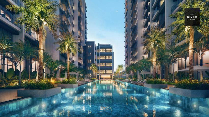 City Garden Thủ Thiêm ký kết hợp tác với 4 nhà phân phối lớn cho Hudson Tower thuộc dự án The River - 5