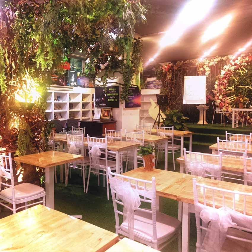 Thêm một không gian cà phê sách đặc biệt khai trương ở Sài Gòn -3