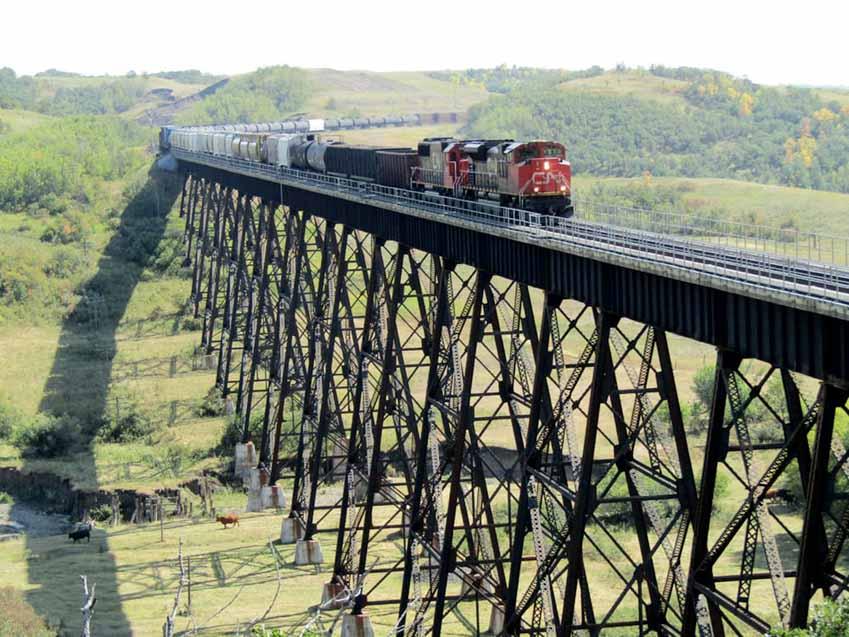 Cầu đường sắt, kỳ quan thế giới trên cao -12