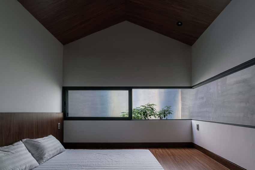 Ngôi nhà được thiết kế theo phong cách của chủ nhân: Ngoài lạnh lùng, trong ấm áp -4