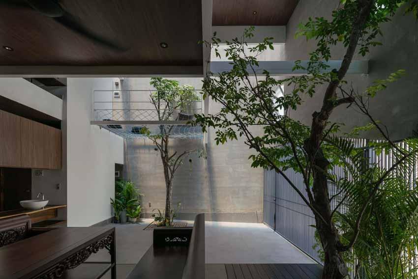 Ngôi nhà được thiết kế theo phong cách của chủ nhân: Ngoài lạnh lùng, trong ấm áp -7