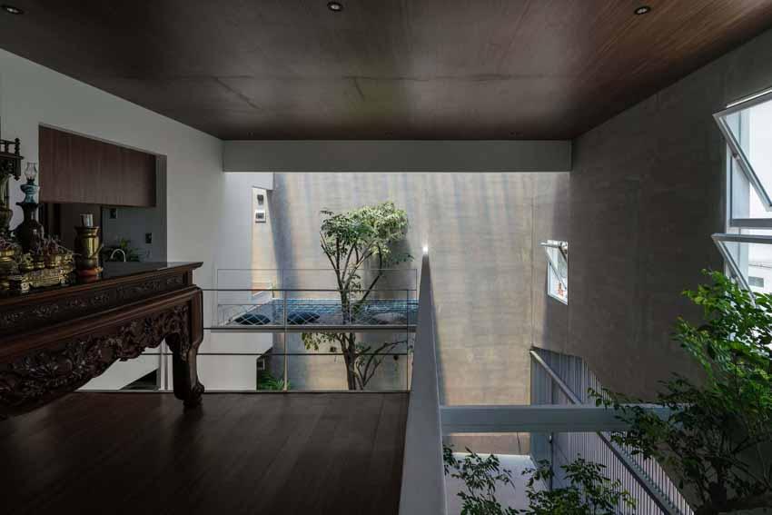 Ngôi nhà được thiết kế theo phong cách của chủ nhân: Ngoài lạnh lùng, trong ấm áp -8