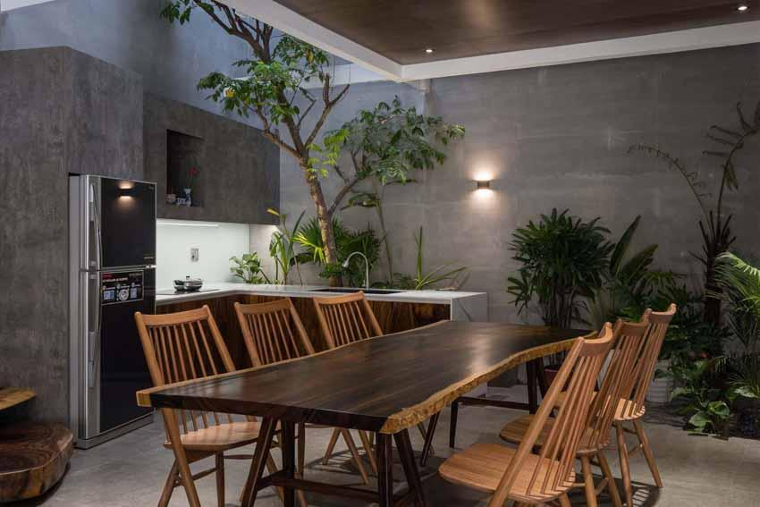 Ngôi nhà được thiết kế theo phong cách của chủ nhân: Ngoài lạnh lùng, trong ấm áp -10
