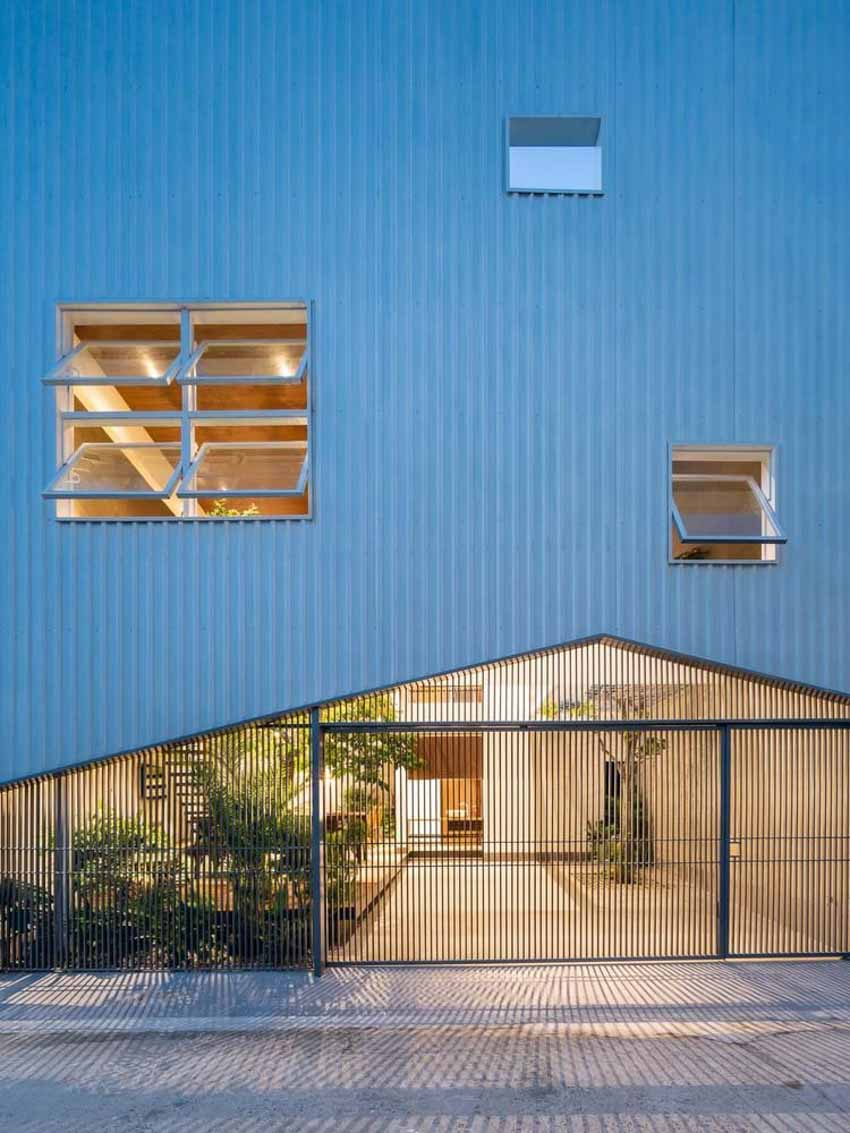 Ngôi nhà được thiết kế theo phong cách của chủ nhân: Ngoài lạnh lùng, trong ấm áp -13