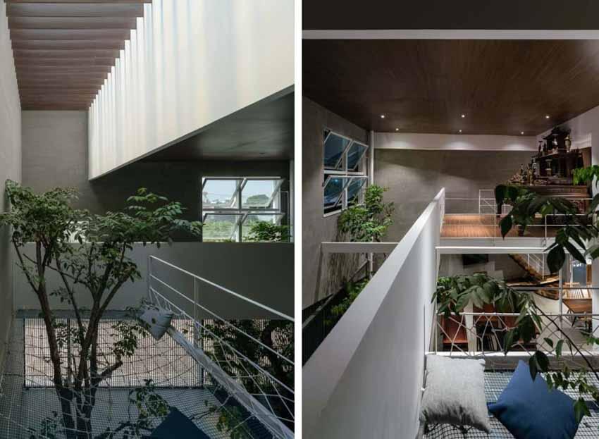 Ngôi nhà được thiết kế theo phong cách của chủ nhân: Ngoài lạnh lùng, trong ấm áp -15