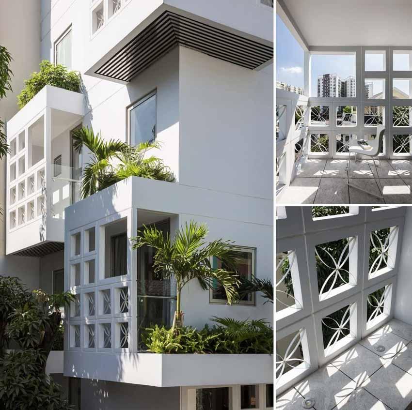 Những căn hộ ngập ánh sáng nằm gọn trong ngôi nhà 5 tầng ở TP.HCM -4