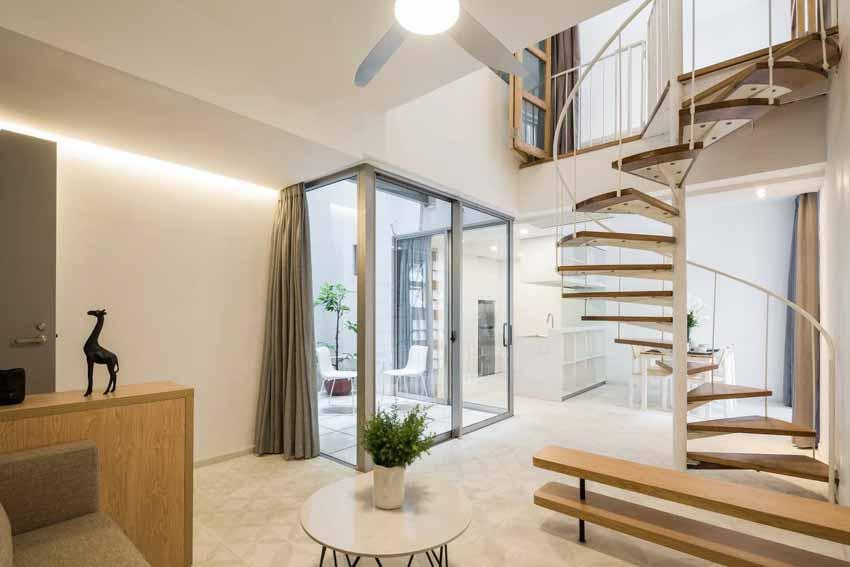 Những căn hộ ngập ánh sáng nằm gọn trong ngôi nhà 5 tầng ở TP.HCM -5
