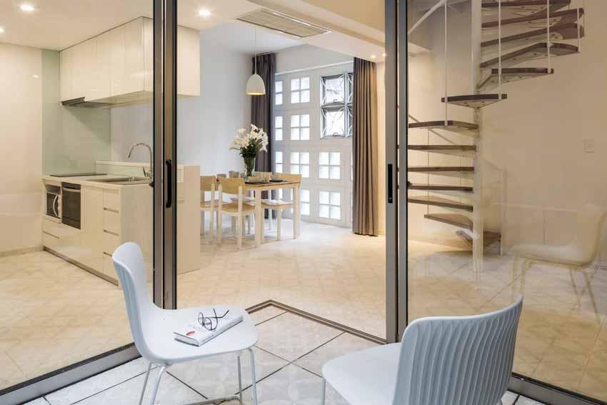 Những căn hộ ngập ánh sáng nằm gọn trong ngôi nhà 5 tầng ở TP.HCM -6