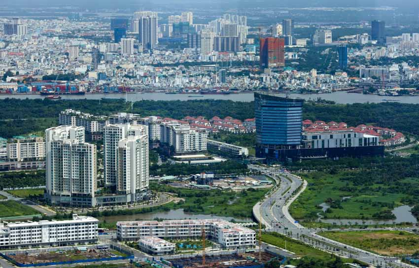 Những phác thảo về 'thành phố trong thành phố' -8