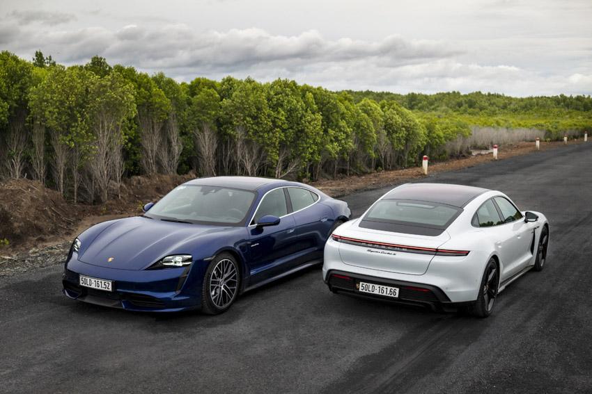 Porsche Việt Nam chính thức giới thiệu xe thể thao thuần điện Taycan - 10