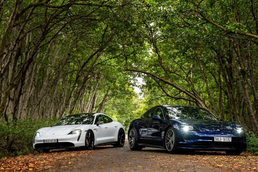 Porsche Việt Nam chính thức giới thiệu xe thể thao thuần điện Taycan - 11