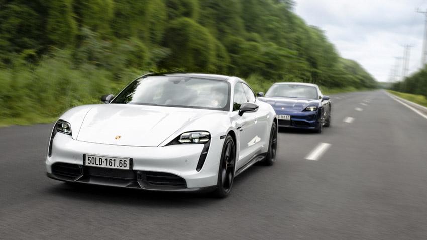 Porsche Việt Nam chính thức giới thiệu xe thể thao thuần điện Taycan - 8
