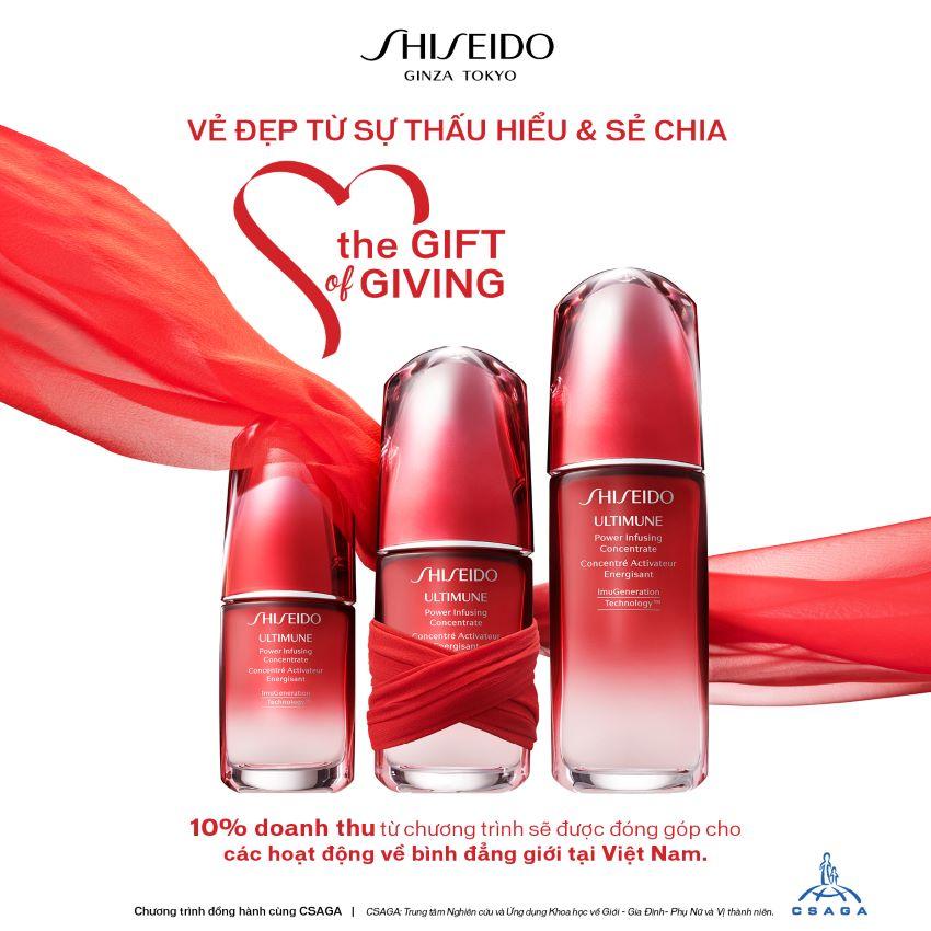 Shiseido bình đẳng giới