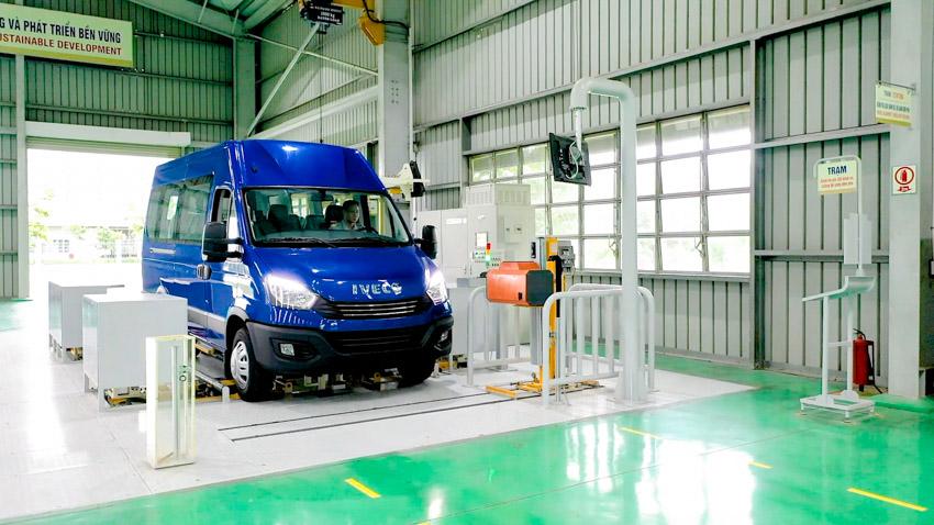 THACO giới thiệu dây chuyền sản xuất và ra mắt Mini Bus Iveco Daily - 4