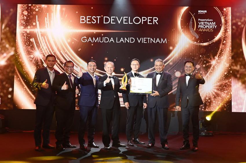 """Gamuda Land Việt Nam nhận giải """"Chủ đầu tư xuất sắc"""" tại Property Guru Vietnam Property Awards 2020 002"""
