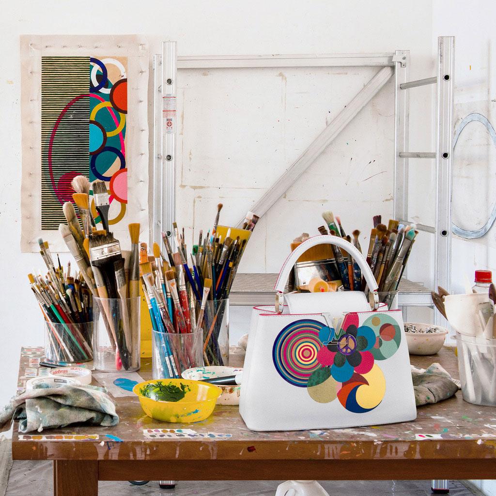 Louis Vuitton ra mắt 6 mẫu Artycapucines của các nghệ sĩ qua dòng túi Capucine - 1