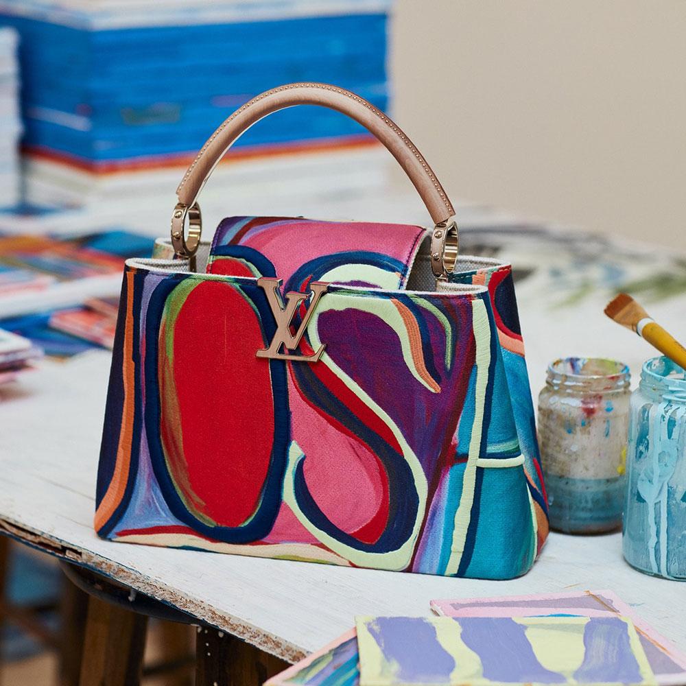 Louis Vuitton ra mắt 6 mẫu Artycapucines của các nghệ sĩ qua dòng túi Capucine - 10