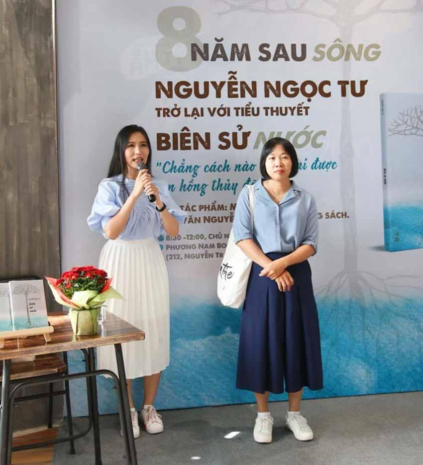 Nhà văn Nguyễn Ngọc Tư ký tặng sách cho hàng trăm bạn đọc Sài Gòn -5