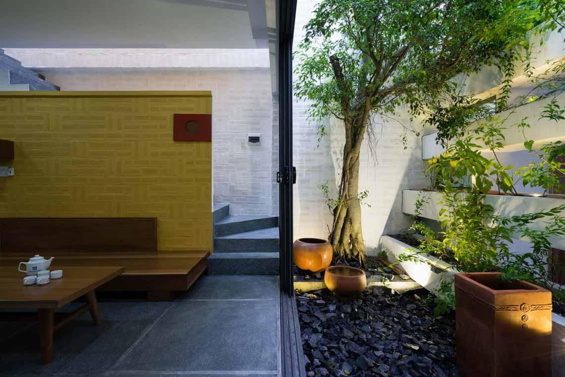 Ngôi nhà hòa quyện kiến trúc Hà Nội và Tây Nam Bộ -2