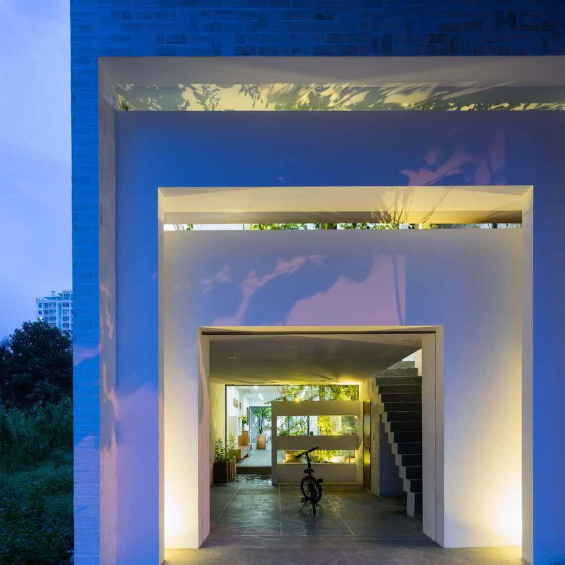 Ngôi nhà hòa quyện kiến trúc Hà Nội và Tây Nam Bộ -4