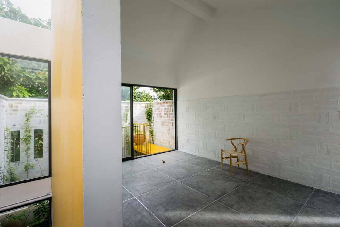 Ngôi nhà hòa quyện kiến trúc Hà Nội và Tây Nam Bộ -6