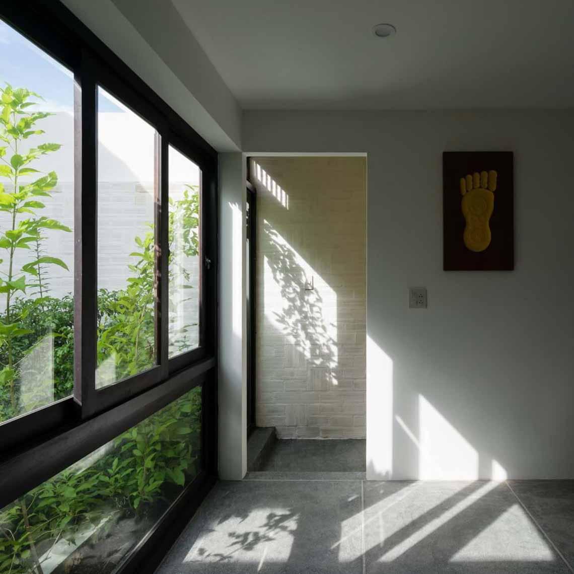 Ngôi nhà hòa quyện kiến trúc Hà Nội và Tây Nam Bộ -7
