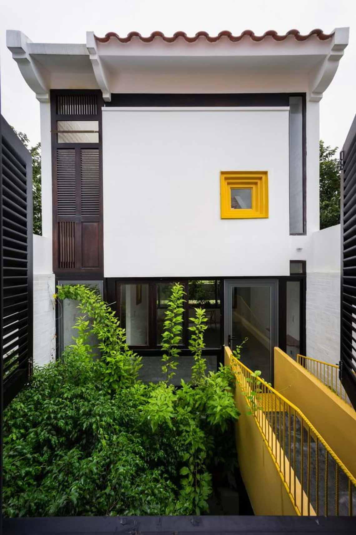 Ngôi nhà hòa quyện kiến trúc Hà Nội và Tây Nam Bộ -10