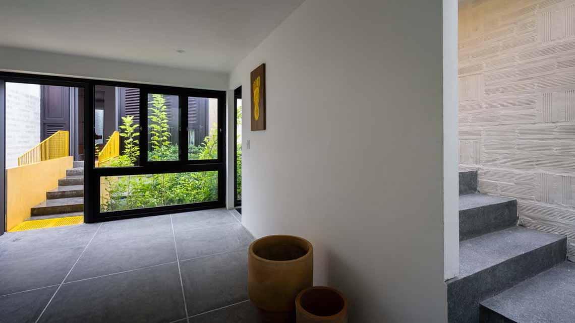 Ngôi nhà hòa quyện kiến trúc Hà Nội và Tây Nam Bộ -11
